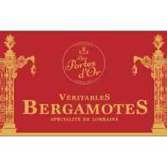 L'Indémodable Bergamote - Bergamote, bonbon sucre dur carré Emballage: papillote rouge individuelle Marque: Aux Portes d'Or  Conditionnement : boite en fer 80 grammes