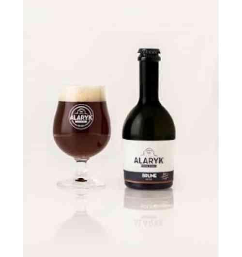 Alaryk Brune Bio - <p>Cette bière à la robe profonde et sombre a des notes torréfiées et de caramel, son amertume et sa puissance sont tout en équilibre. Elle est brassée selon la tradition des bières de garde, en haute fermentation et non pasteurisée.</p>