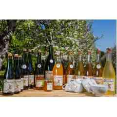 CIDRE FERMIER DE BROCÉLIANDE : Cidre, poiré et jus de pomme