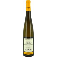 Riesling Grand Cru Wineck-Schlossberg 2014 - Sa robe est d'un jaune doré. Nez complexe avec une belle minéralité et des notes fumées. En bouche, on retrouve un vin bien structuré avec beaucoup de matière, développant une belle acidité, celle notamment des agrumes.