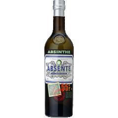 ABSENTE - ABSENTE, née en 1999, a été la première absinthe légale sur le marché depuis son interdiction. ABSENTE, un impact fort avec son packaging  à l'effigie de Van Gogh, associé à l'art et aux artistes,  est destinée à une clientèle moderne qui recherche la différence, la qualité et l'originalité. Absinthe, anis, menthe et épices lui confèrent équilibre, délicatesse, fraîcheur et persistance aromatique.