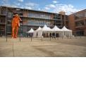 Tente de réception - <p>Tente pliante de réception, format Pagode (toit pointu), pour recevoir sur vos événements, marchés, foires...</p>