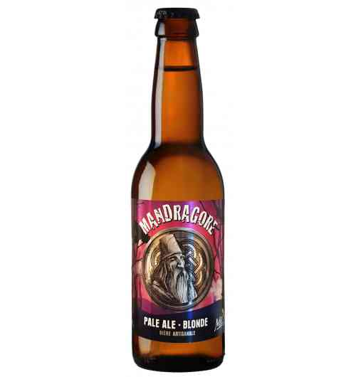 Mandragore - Bière blonde Pale Ale Blonde légère  4.8°