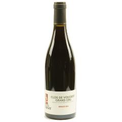 """Clos de Vougeot Grand cru - De la ville de Vougeot, la parcelle """"Clos de Vougeot"""" est la plus grande parcelle dans ce petit village. Un vin très intense et corsé. Un goût de fruits rouges et noires se mélangent. En bouche, c'est une saveur riche, moelleuse, fine et élégante. C'est un vin de longue durée (de 10 à 20 ans)."""