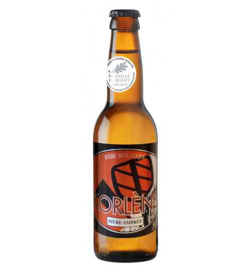 Korlène - Bière ambrée Bière biologique