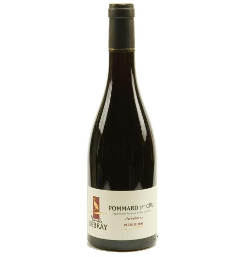"""Pommard 1er cru """"Les Arvelets"""" - Le vin le plus masculin de la Bourgogne ! Le Pommard vous offre une robe rouge foncée aux reflets rubis. Son goût vous offre des arômes de mûre, myrtille. Les arômes changent aussi avec l'âge, ils sont orientés vers le cuir,la fourrure, le poivre."""