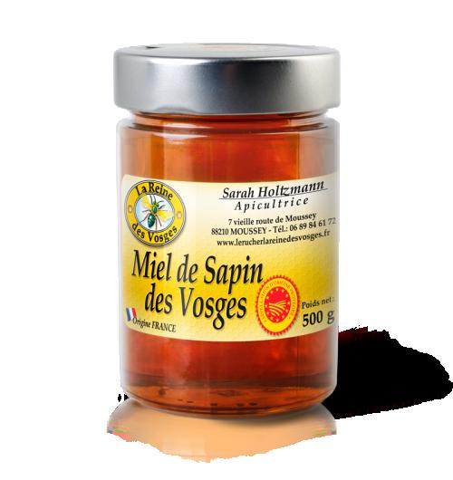 Miel de sapin des Vosges AOP 500g