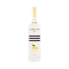 Liqueur de Mirabelle - La liqueur sélectionnée par Cambusier à la robe légèrement orangée est issue de la distillation de mirabelles de Lorraine. Très fruitée, équilibrée et raffinée, elle surprend par son goût incomparable.