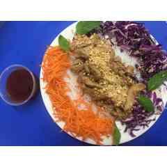Salade thaï au poisson