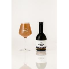 Alaryk Blonde Bio - <p>Cette bière légère, fi nement maltée et fruitée, est brassée dans le respect de la tradition brassicole, en fermentation haute, et non pasteurisée. Elle est élaborée avec les meilleurs ingrédients, en agriculture biologique.</p>