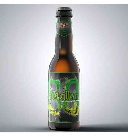 La Meilleure - bière blonde double fermentation. 8,8°.