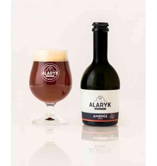 Alaryk Ambrée Bio - <p>Cette bière de dégustation à la couleur ambrée a des notes biscuitées et légèrement caramélisées. Vous serez séduits par sa rondeur et son amertume tout en légèreté. Cette bière est brassée dans le respect de la tradition brassicole, en fermentation haute, et non pasteurisée.</p>