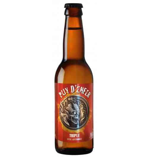 Puy d'enfer - Bière triple , blonde forte 8.5 °