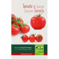 Tomates géothermales de la Tunisie - Aux portes des plus beaux déserts, jaillissent des eaux géothermales offrant au sud tunisien des légumes spécifiquement savoureux. L'ensoleillement, la chaleur naturelle de l'eau réchauffe les légumes entretenus par les mains habiles des femmes et des hommes qualifiés. La tomate, produit phare, représente 75%. Ces tomates sont reconnues par leur goût merveilleusement exceptionnel.