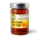 Miel de Sapin des Vosges AOP 500g - Le Miel de Sapin des Vosges AOP à une saveur maltée, une saveur douce et sans amertume. L'odeur du Miel de Sapin des Vosges AOP est aromatique, marquée et très agréable. Le Miel de Sapin des Vosges AOP à une cristallisation très lente et garde longtemps sa texture sirupeuse. La conservation du Miel de Sapin des Vosges AOP est excellente