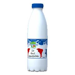 Lait demi écrémé en bouteille 0.50 CL