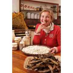 Haricots de Soissons - C'est le plus gros haricot blanc de France. Sa chair est succulente. Il se consomme en légumes ou à l'apéritif  avec un assaisonnement