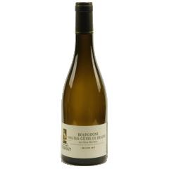 Bourgogne Hautes-Côtes de Beaune 2018 - Le Bourgogne Hautes-Côtes de Beaune est une appellation régionale, 100% chardonnay. C'est un vin très apprécié par son bouquet fruité de pêche et abricot et son goût fruité et léger. Se boit facilement autour d'un repas simple