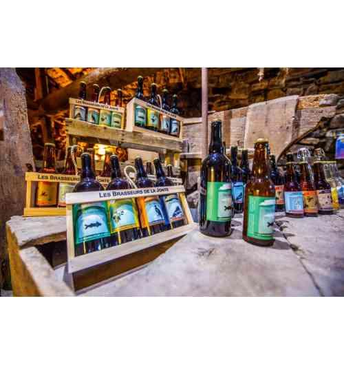Bières artisanales LES BRASSEURS DE LA JONTE - Bières artisanales classiques et spéciales, brassées à l'eau de l'Aigoual !