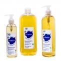 En Douce - <p>Nos savons liquides sont deux à trois fois plus concentrés en savons que les produits classiques car ils<strong>ne contiennent pas</strong>d'agent viscosant (chlorure de sodium, hydroxyéthylcellulose, gommes xanthates, etc). La viscosité est ajustée par la concentration en sels d'acides gras.<br /><br /><br />La composition INCI est la plus simple qui soit : De l'huile d'olive bio, de la potasse, des huiles essentielles de lavande fine AOC et de Romarin bio, de l'eau pure et rien d'autre !<br />Ingrédents INCI : aqua, potassium olivate *, olea europaea oil*, glycerol*, lavandula angustifolia oil, rosmarinus aooficinalis oil *, Linalool**, Limonene**. *Produit issu de l'Agriculture Biologique. **Naturellement présent dans les huiles essentielles.<br />20% des ingrédients sont d'origine biologique.<br />100 % des ingrédients sont d'origine naturelle.</p>