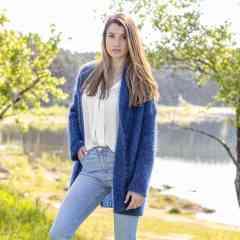 A découvrir : veste oversize en mohair - Cette veste confortable vous accompagnera au quotidien