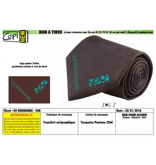 Cravate - 100% polyester