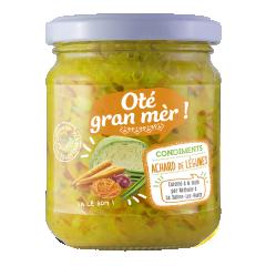 achards et rougail - les achards sont des légumes finement hachés et saisies à la marmite. tradition 974 possède des recettes ancestrales qui font que leurs condiments sont très appréciés dans le monde.