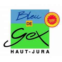 BLEU DE GEX HAUT-JURA - Le Bleu de Gex Haut Jura est un fromage à pâte persillée. Son crémeux et la douceur de ses arômes de chanterelles et de crème vanillé le classent dans la catégorie des bleus doux. Il est fabriqué selon les pratiques ancestrale au coeur du Parc naturel Régional du Haut Jura.