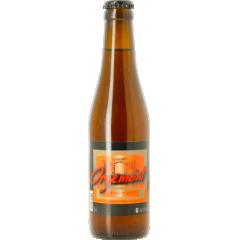 Orgemont triple bio 8,5° - D'un blond hâlé, elle développe une mousse abondante. Son degré d'alcool élevé n'est pas décelable au goût et ce sont ses arômes prononcés et sa rondeur qui marquent le plus. Brassée avec plusieurs épices et trois types de malt différents, elle est une bière de dégustation par excellence.