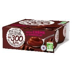 Crème dessert chocolat - Crème dessert fabriquée à partir de lait entier 100% français et d'une touche de crème. Format 4x95g. La douceur du lait entier pour un dessert généreux. Cette crème dessert au bon goût de chocolat régalera les gourmands.