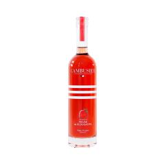 Liqueur de Fraise - La douceur de cette liqueur issue de la macération de fraises de Plougastel surprend par son goût subtil et envoûtant.