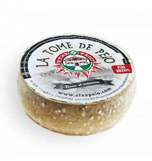 LA TOME DE PEIO - Découvrez l'onctuosité et le parfum légendaire de ce fromage au lait pasteurisé !