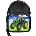 sac a dos tracteur - <p>Sac à dos avec décor tracteur</p> <p>- Taille 450 x 300 x 170 mm <br /> - 95% polyester, 5% coton <br />- Bretelles rembourrées ajustables avec pochette portable <br /> - Poche à documents zippée à l' intérieur <br /> - Capacité: 20 litres</p> <p>Le plus : un classeur A3 rentre facilement</p>