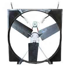 """Ventilateur ABBIFAN XXP - Le ventilateur performant, économique et ultra silencieux!  Carter profilé """"cône"""" - Ventilation puissante et précise  Moteur à aimants permanents dernière génération avec système de contrôle électronique - 0,75Kw (IP65) Gros débit - Faible consommation électrique - Variateur électronique intégré - Contrôle avec précision de la vitesse du ventilateur avec un simple signal 0-10V  Moteur faible consommation 0,75Kw (IP 65) Faible consommation Étanche à l'humidité et à la poussière  Pâles en Polypropylène renforcé de fibre de verre (PPG) Grand volume de brassage Durée de vie accrue  Capacité : 48930 m3/h maxi Fort abaissement de la température"""