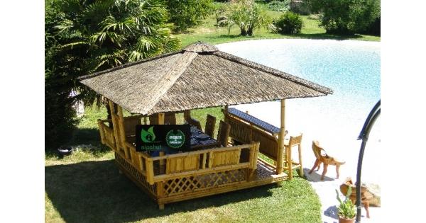 Paillote de jardin laguna bar salon international de l - Paillote de jardin ...