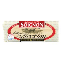 Bûche Sainte-Maure Sélection - La finesse de son goût caprin ravi le quotidien des amateurs de fromage de chèvre authentique. Bûche de fromage de chèvre affiné de qualité supérieure est fabriquée à partir de lait 100% français.