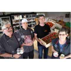 La ferme de Sous la Ville : Terrine de porcs, de poulets et canard