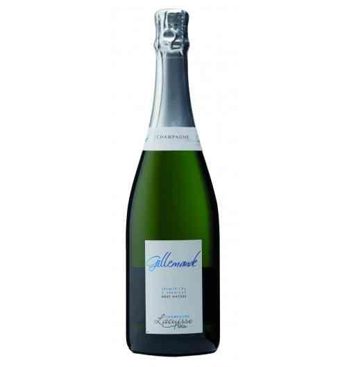 Champagne cuvée Gillemande Brut Nature - Le Meunier est à l'honneur, dans cet assemblage ou le Pinot Noir et le Chardonnay apportent leur subtilité. 0 dosage.  Exprime toute la minéralité naturelle des coquilles de mer de notre terroir.