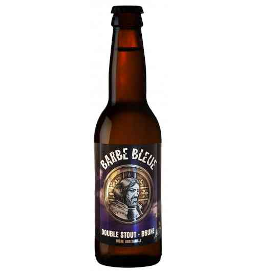 Barbe Bleue - Bière Brune  Double Stout  7 °