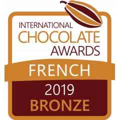 "Le terroir - Ganache figue et vin de gaillac, récompensé par un ""international chocolate awards"" en 2019"