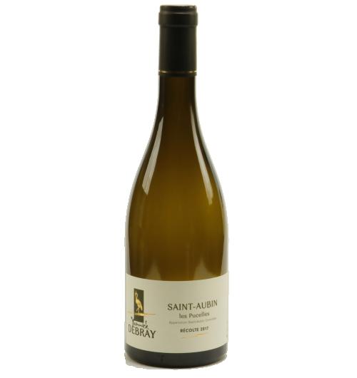 """Saint-Aubin """"Les Pucelles"""" 2018 - Notre produit phare !!  Sans aucun doute notre vin blanc (chardonnay) le plus apprécié du domaine. Un vin jeune qui offre une fraîcheur et une vivacité en bouche sur des notes d'agrumes (citron, orange)."""