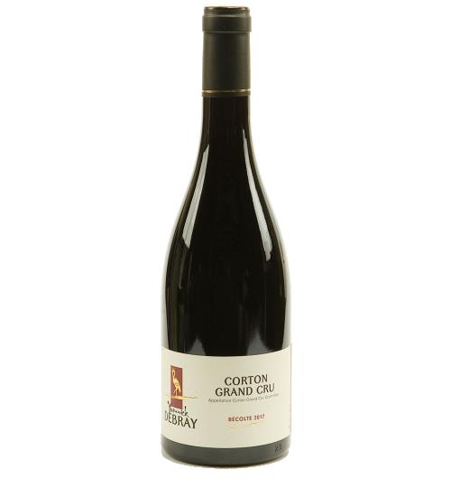 Corton Grand cru 2017 - Les vignes de ce grand cru se situent à Aloxe-Corton.  Son goût aux accents fruités (groseille) et floraux (violettes, bleuets) lui ce caractère singulier. En bouche, il est fort, corsé, ferme et franc tout ce qu'on attend d'un grand vin même s'il a besoin de 6 à 12 ans pour s'épanouir.