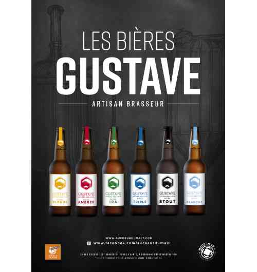 Bière artisanale blonde médaillée d'argent au concours général agricole 2018 - Bière au caractère marquée
