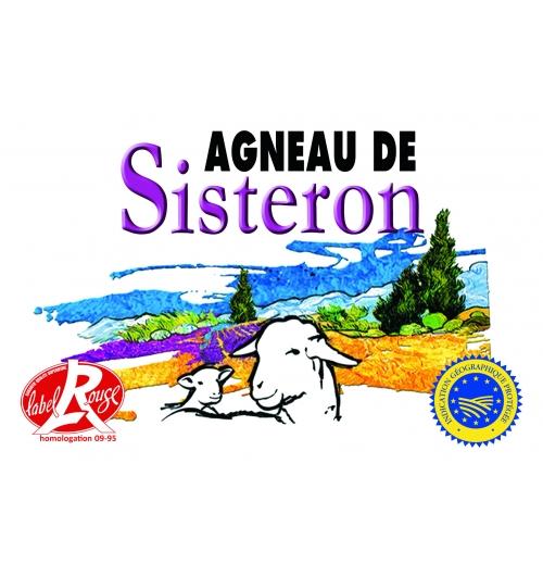 Agneau de Sisteron IGP Label Rouge  - <p>L'Agneau de Sisteron est protégé par une Indication Géographique Protégée (IGP), siginifiant que seuls les agneaux issus d'élevages qualifiés en IGP peuvent s'intituler comme tel sur une facture ou une publicité. L'IGP garantit en premier lieu l'origine de production de l'agneau. L'agneau de Sisteron doit être né et élevé et abattu dans la zone IGP : région Provence Alpes Côte d'Azur et Drôme Provençale.</p>