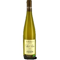 """Pinot Blanc """"Les Natures"""" 2016 - Ce Pinot Blanc dévoile d'emblée son caractère plein de finesse et de légèreté. Des arômes fruités, de la fraîcheur, et une élégante acidité se combinent harmonieusement et font de ce pinot blanc un vin sec fruité et équilibré."""