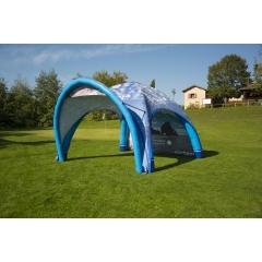 Tente gonflable promotionnelle - <p>Une tente gonflable imprimée pour promouvoir votre activité sur vos salons, foires et opérations commerciales.</p>