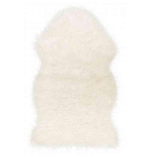 Peau de mouton mérinos naturelle - Taille :L : 115cm - l : 0,70cm environ (La taille peut légèrement varier en fonction de l'animal) Poids :0,4 kg Matière : peau de mouton Poils semi-longs : 4 à 6 cm Couleur :Blanc  Pour la poussière, secouez et brossez régulièrement la peau pour qu'elle retrouve sa densité naturelle. Si vous avez une tâche, utilisez de l'eau et du savon en frottant délicatement dans le sens du poil, laissez sécher à l'air libre et n'utilisez jamais de produits chimiques ou autres détergents