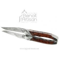 Couteau tribal manche en thuya