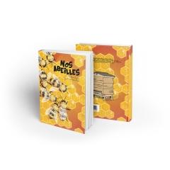 """""""Nos Abeilles"""" - <p>Ce livre est la rencontre de deux passionnés : un pour les abeilles, une pour la pédagogie. Et il y a eu comme une évidence…</p> <p>Apiculteur depuis 2009, Jean-Bernard prend soin de ses butineuses dans la campagne auvergnate. Professeure des écoles depuis 2002, Marie s'attelle depuis quelques années à la formation des enseignants. Elle a été piquée par les abeilles, il a été séduit par la pédagogie. Et ils se sont dit oui !</p> <p>Oui pour la conception d'un album de littérature de jeunesse dans lequel le lecteur est happé par une belle histoire tout en apprenant sur le monde des abeilles et leur rôle indispensable dans la nature.</p>"""