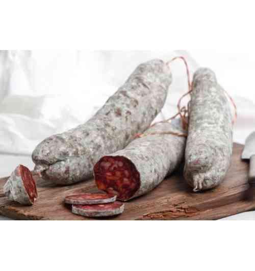 Chorizo de porc Noir Gascon - Chorizo de Porc Noir Gascon, de 250 à 280 grammes.